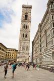 Torretta di segnalatore acustico del Giotto Immagine Stock