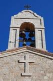 Torretta di segnalatore acustico della chiesa Fotografia Stock