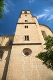 Torretta di segnalatore acustico della chiesa del El Salvador Fotografie Stock