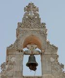 Torretta di segnalatore acustico della chiesa di Argiroupolis 1 fotografia stock