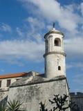 Torretta di segnalatore acustico di pietra della chiesa Immagini Stock Libere da Diritti