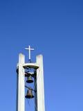 Torretta di segnalatore acustico moderna della chiesa Immagine Stock Libera da Diritti