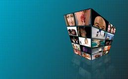 Torretta di Tchnology TV Immagine Stock Libera da Diritti