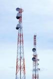 Torretta di telecomunicazione Fotografie Stock