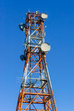 Torretta di telecomunicazione Fotografie Stock Libere da Diritti