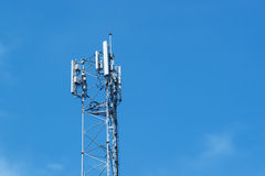 Torretta di telecomunicazione Immagini Stock Libere da Diritti