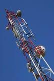 Torretta di telecomunicazione di GSM Immagini Stock Libere da Diritti