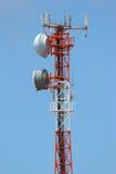 Torretta di telecomunicazioni Immagine Stock Libera da Diritti