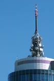 Torretta di telecomunicazioni Fotografia Stock