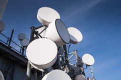 Torretta di telecomunicazioni Fotografie Stock