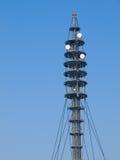 Torretta di telecomunicazioni Fotografie Stock Libere da Diritti