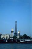 Torretta e Seine Immagini Stock Libere da Diritti