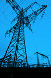 Torretta elettrica Fotografie Stock Libere da Diritti