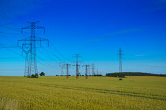 Torretta elettrica Fotografia Stock Libera da Diritti