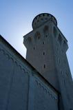 Torretta Germania del castello del Neuschwanstein Fotografia Stock Libera da Diritti