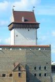 Torretta lunga di Hermann nel castello di Narva Fotografia Stock Libera da Diritti