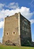 Torretta medioevale in Sicilia Fotografie Stock Libere da Diritti