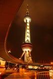Torretta orientale della perla, Schang-Hai, Cina Fotografia Stock Libera da Diritti