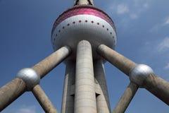 Torretta orientale Schang-Hai della perla Immagini Stock Libere da Diritti