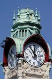 Torretta-orologio della stazione a Rouen Immagini Stock