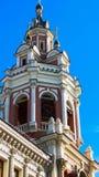 torretta ortodossa della chiesa del segnalatore acustico Fotografia Stock Libera da Diritti