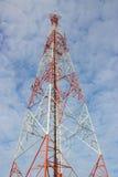 Torretta radiofonica Fotografia Stock