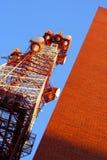 Torretta radiofonica immagine stock