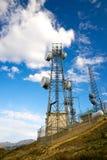 Torretta radiofonica alta Fotografie Stock