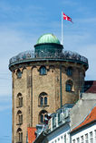 Torretta rotonda a Copenhaghen, Danimarca Immagine Stock