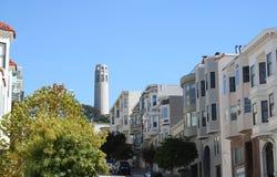 Torretta San Francisco di Coit Fotografia Stock Libera da Diritti