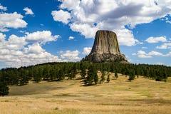 Torretta Wyoming dei diavoli Immagini Stock Libere da Diritti