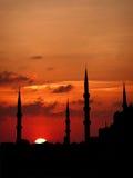Torrette al tramonto Fotografia Stock Libera da Diritti