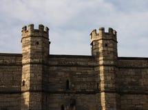 Torrette del castello. Immagine Stock