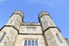 Torrette del castello Fotografie Stock Libere da Diritti