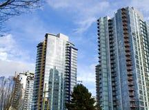 Torrette del centro di Vancouver Immagine Stock Libera da Diritti