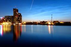 Torrette del mare a Gdynia Fotografie Stock