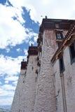 Torrette del palazzo di Potala Fotografia Stock