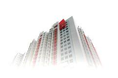 Torrette dell'appartamento Immagini Stock Libere da Diritti