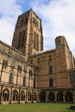 Torrette della cattedrale di Durham Fotografia Stock Libera da Diritti
