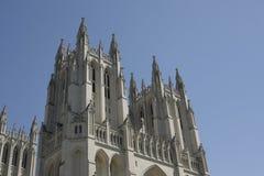 Torrette della cattedrale nazionale Fotografia Stock