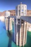 Torrette della presa della diga e di acqua di Hoover Immagini Stock Libere da Diritti