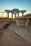 Torrette di acqua del Kuwait Immagine Stock Libera da Diritti