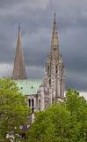 Torrette di Chartres Fotografia Stock