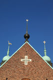 Torrette di chiesa Immagine Stock