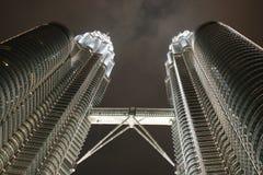 Torrette di gemelli di Petronas Immagini Stock Libere da Diritti