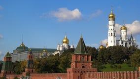Torrette di Mosca Kremlin Immagine Stock