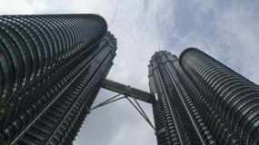Torrette di Petronas Immagine Stock Libera da Diritti