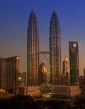 Torrette di Petronas Immagini Stock Libere da Diritti