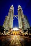 Torrette di Petronas Fotografia Stock Libera da Diritti
