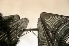 Torrette di Petronas Fotografia Stock